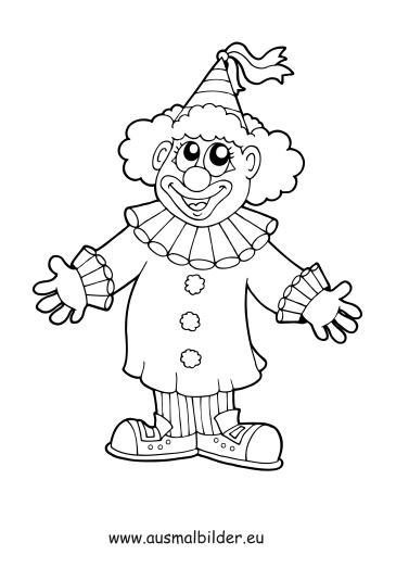 Malvorlagen Zirkus Clown My Blog