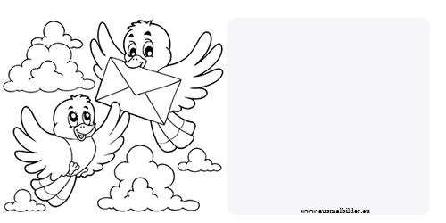kostenlose einladungskarten zum ausdrucken und ausmalen
